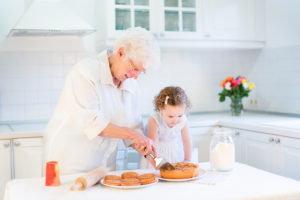 Elderly Care in Sacramento CA: Bake for Family Fun Month