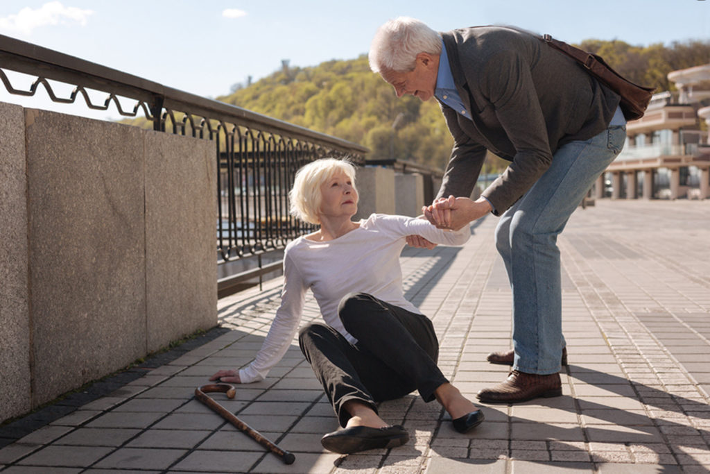 Caregiver in Lincoln CA: If Your Senior Falls