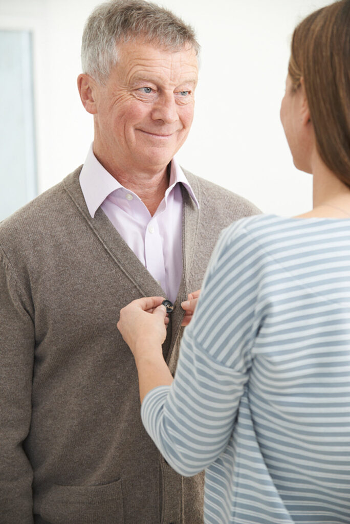 Caregiver in San Clemente CA: Senior Dressing Tips