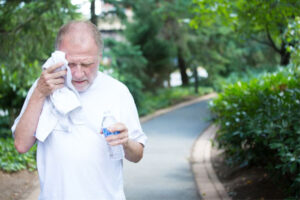 Elder Care in Grass Valley CA: Outside Exercise